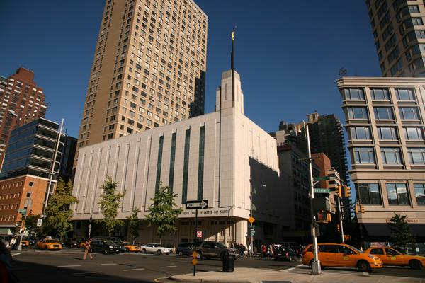 New York Manhattan temple and meetinghouse